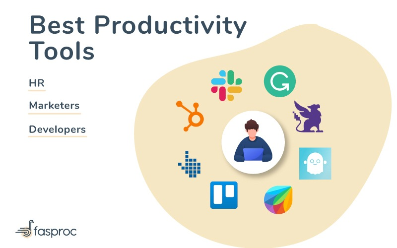 20+ best productivity tools of Marketers, HR and Developers in 2020