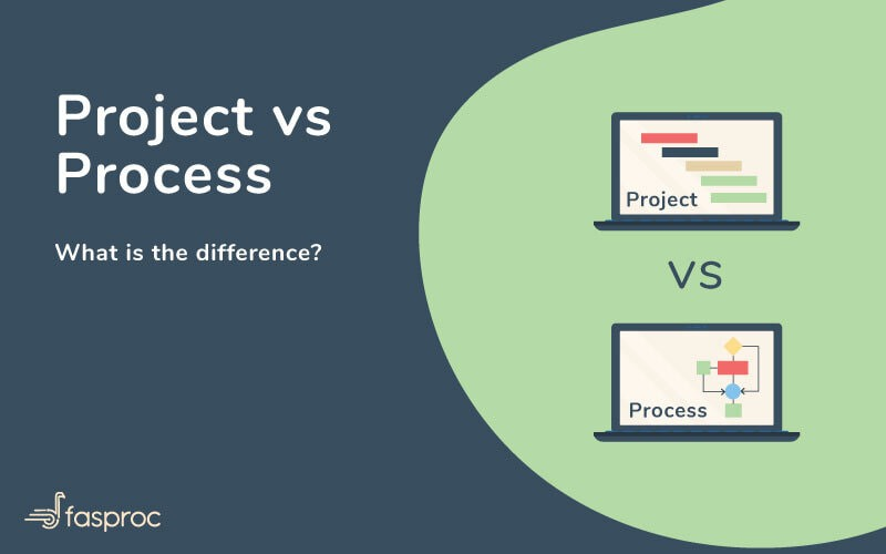Project vs Process: What is the difference?