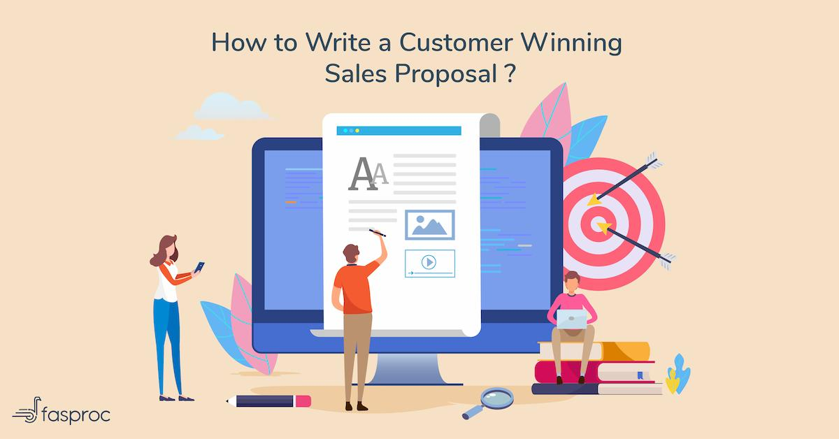 Sales proposal writing services