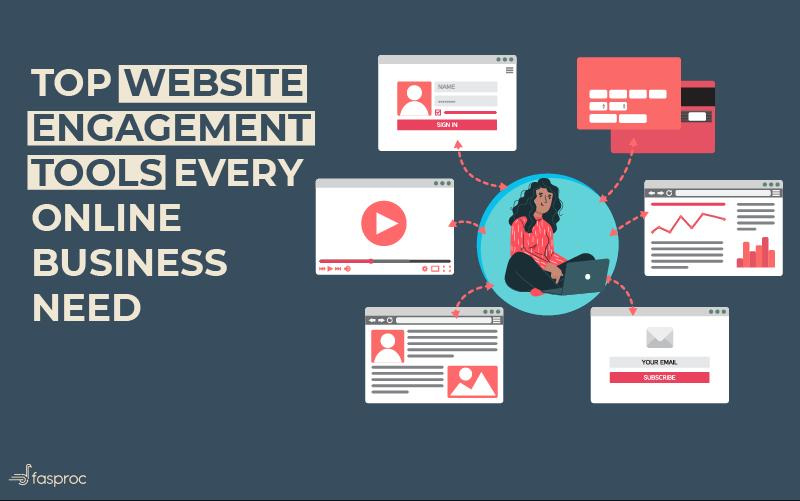 Top website engagement Tools to turn traffic into your customer [2020]